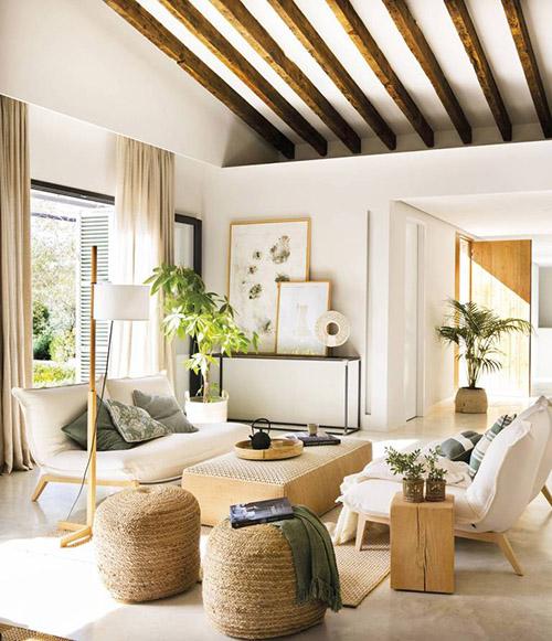 casa de estilo natural