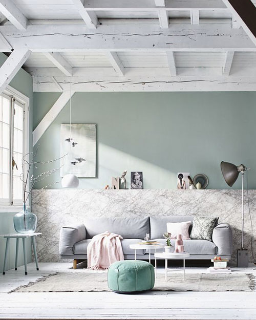 ideas para decorar con el color verde