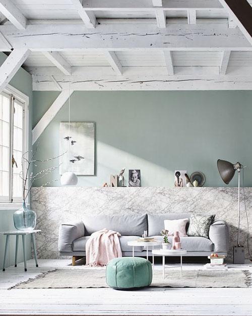 ideas para decorar con el color verde