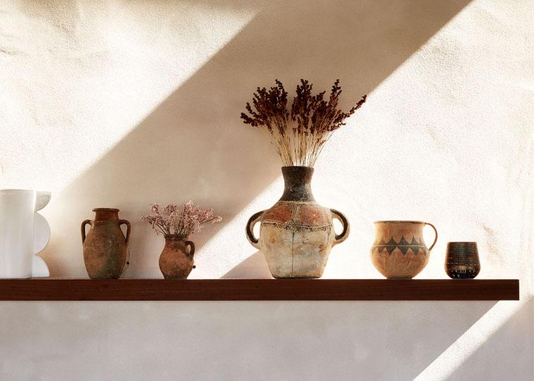 cerámica para decorar una casa de campo