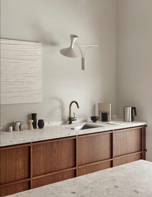 Iluminación de cocinas pequeñas