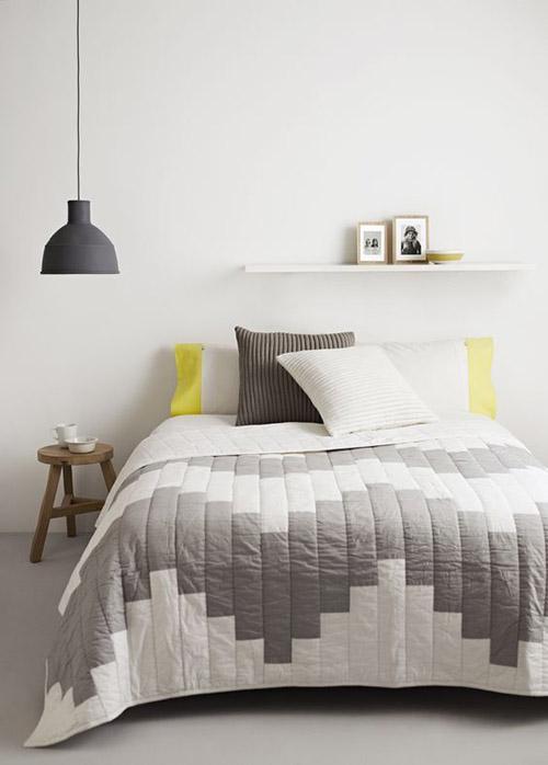 lámpara de techo dormitorio estilo nórdico
