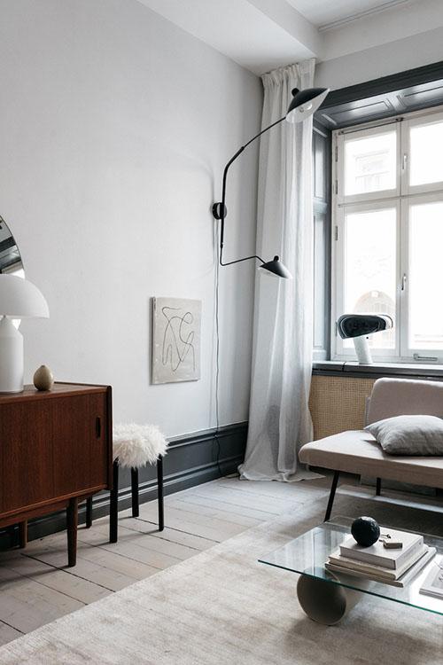 lámparas para salones pequeños