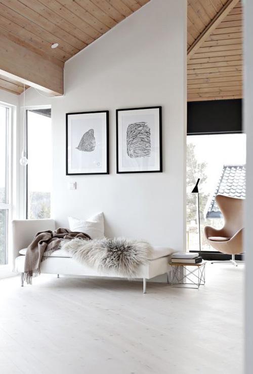 Tejidos y texturas para decorar los interiores de estilo minimalista