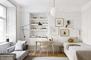 Interiores minimalistas en la decoración de interiores