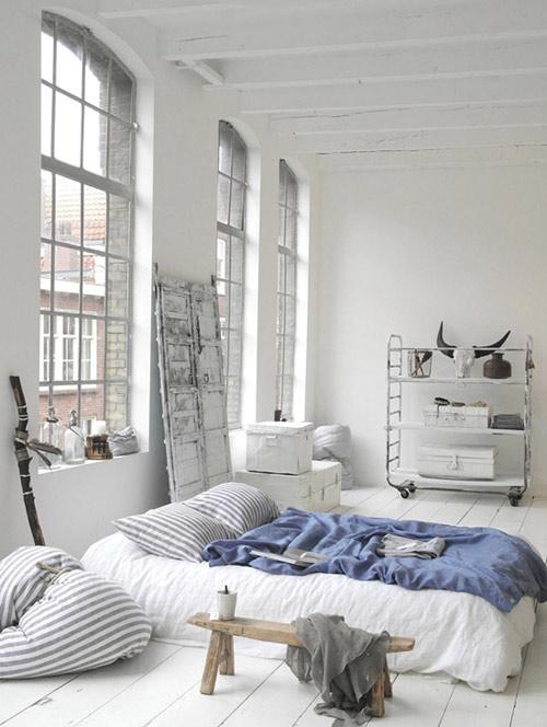 Espacios diafanos y abiertos en los apartamentos nórdicos