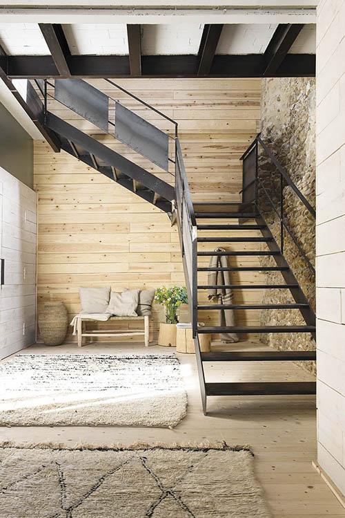 interiores de casas de madera