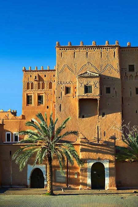 Casas de barro en Marruecos