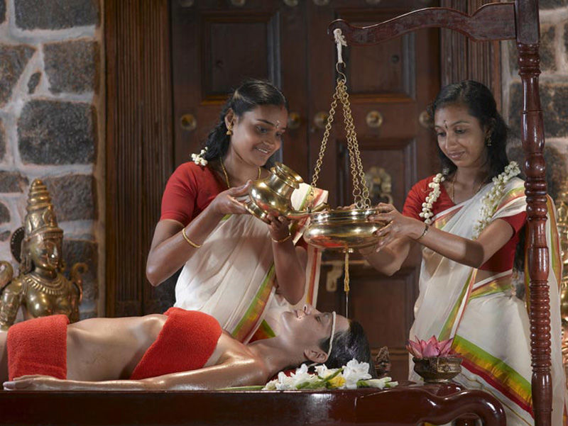 Tratamientos de ayurdeva en Kerala, India