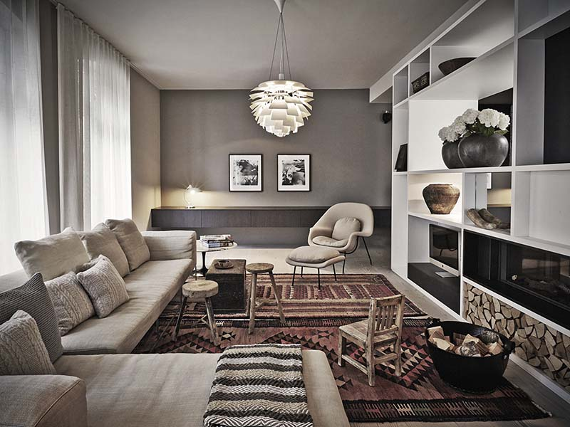 Cómo decorar con alfombras kilim