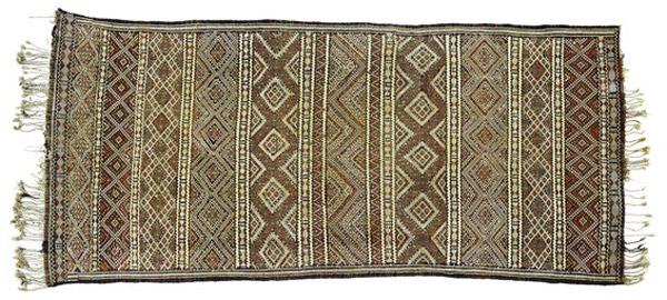 Kilim antiguo de Marruecos