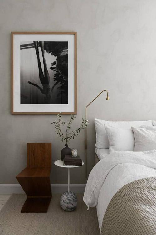 lámpara de pared de diseño minimalista