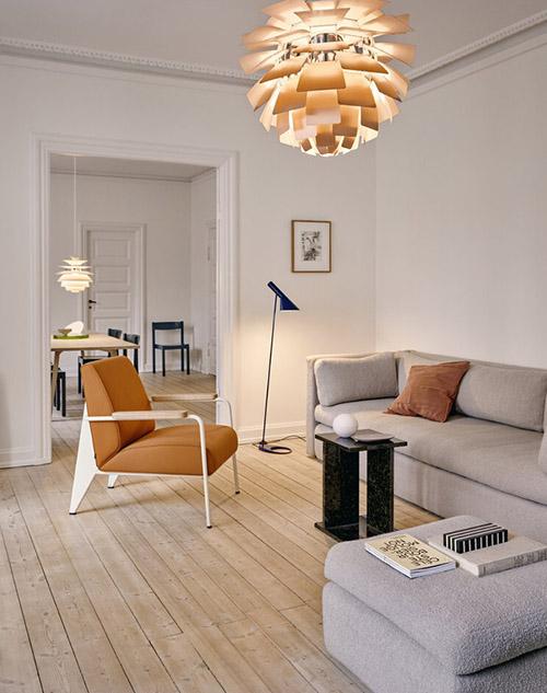 lámpara de diseño escandinavo