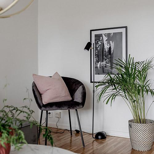 lámpara de sillón