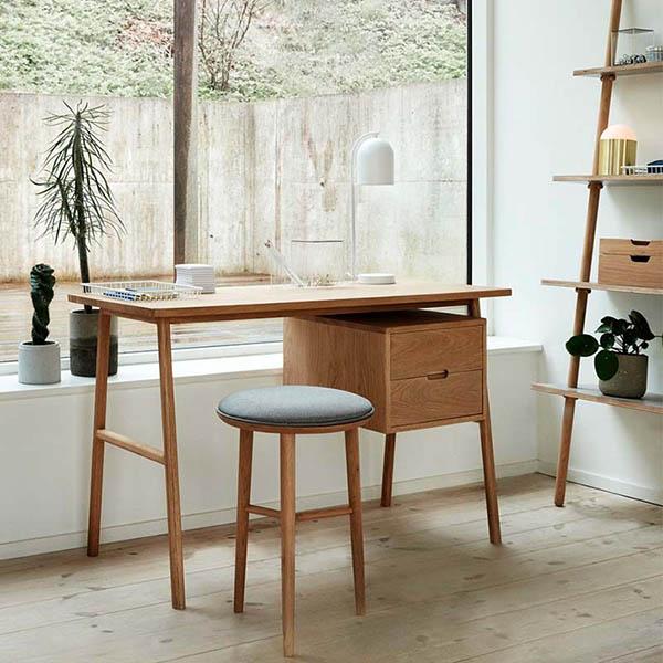 escritorios de madera para la habitación de casa