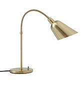 Lámpara de mesa de latón