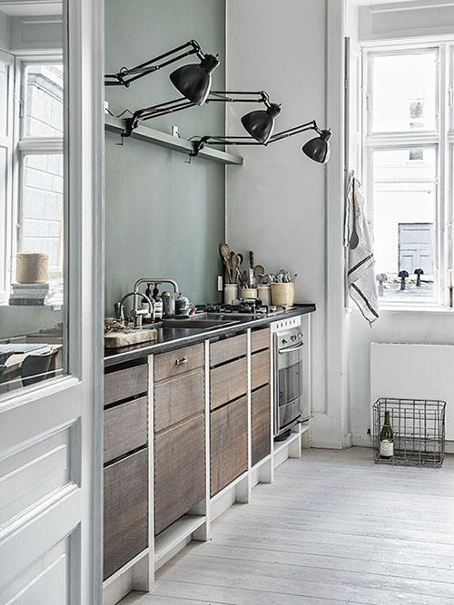 ideas de iluminación de las cocinas