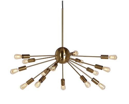 lampara techo comedor industrial