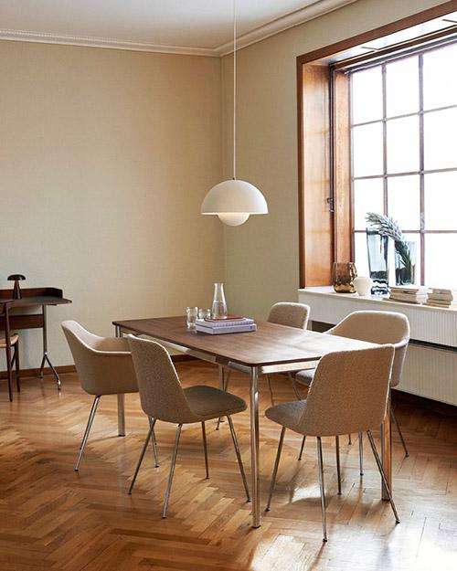 lámpara minimalista techo