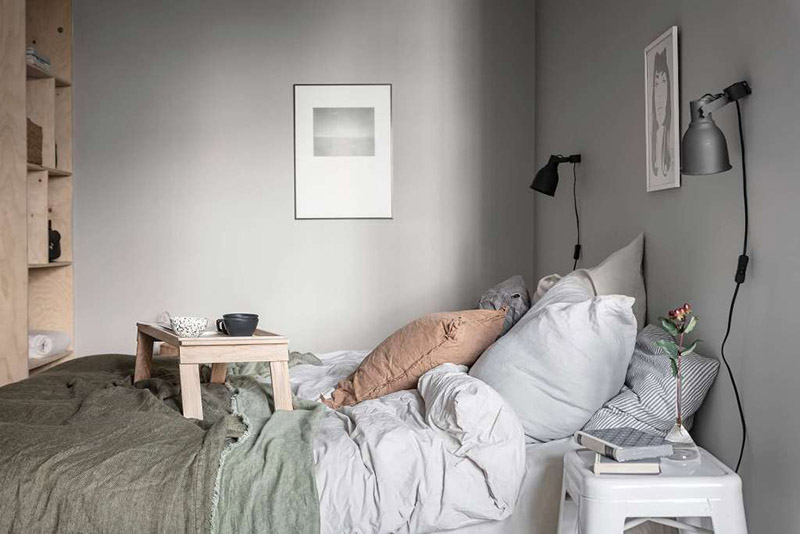iluminación de dormitorios con bombillas led