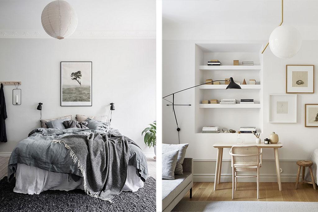 Lámparas de techo de dormitorio