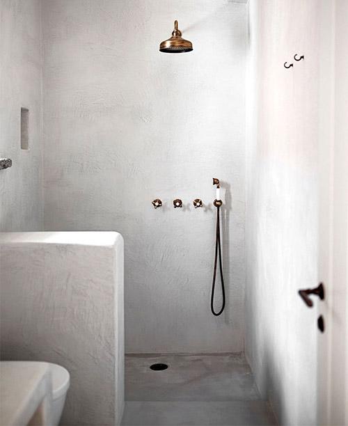 cuarto de baño de una casa de veraneo