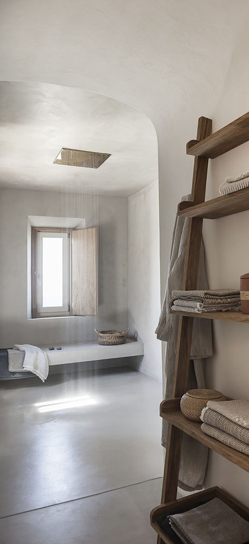 como decorar un baño en una casa de vacaciones