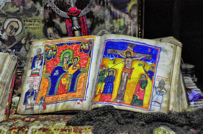 Viejas reliquias en Etiopía