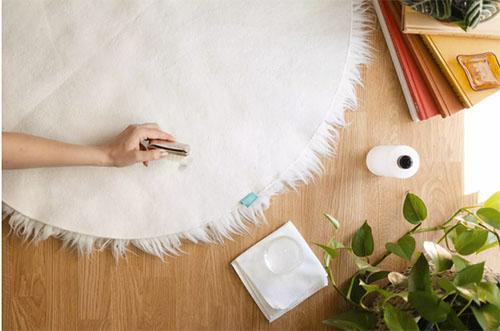 Cómo limpiar las manchas de una alfombra de pelo largo