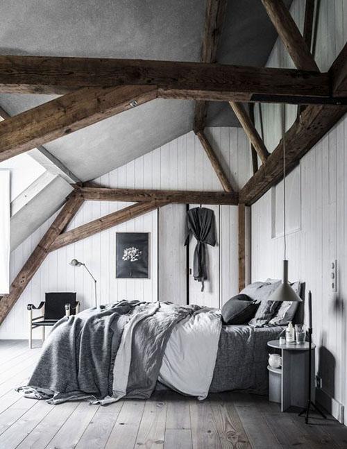 habitación nórdica