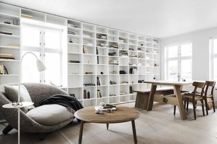La luz en los interiores de estilo nórdico