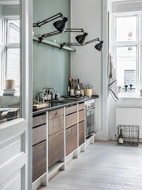 Cómo iluminar una cocina pequeña