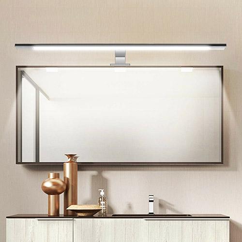 luz led en la iluminación del baño