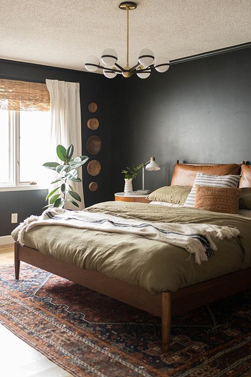 qué lámpara elegir para el dormitorio