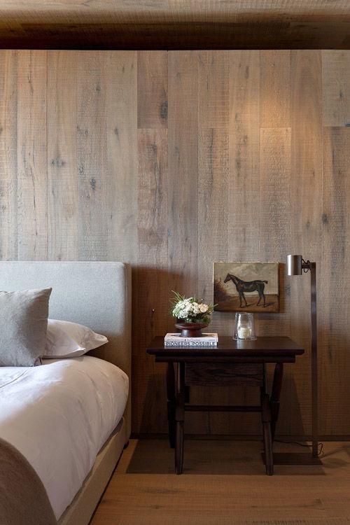La madera, material indispensable en la decoración rústica