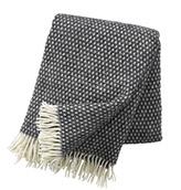 manta de lana con flecos
