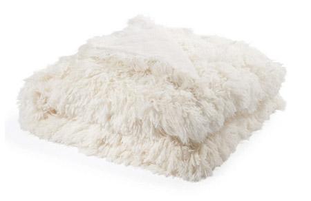 manta de piel para la cama o el sofá