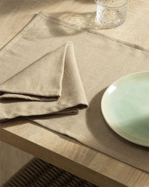 mantel individual de tela para proteger la mesa de la cocina o el comedor