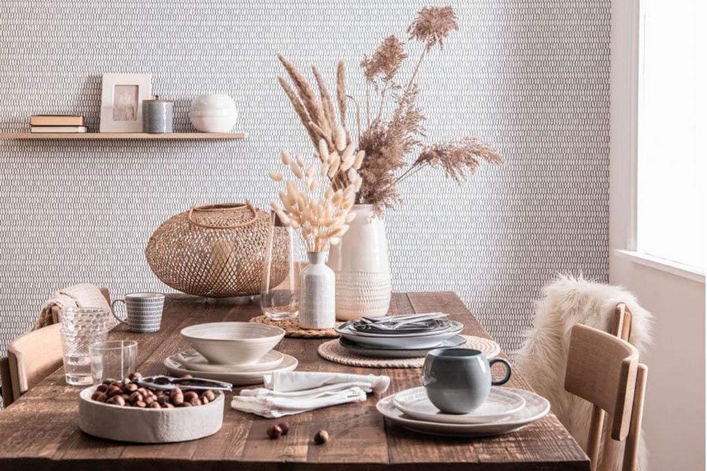 manteles individuales para la mesa del comedor o la cocina