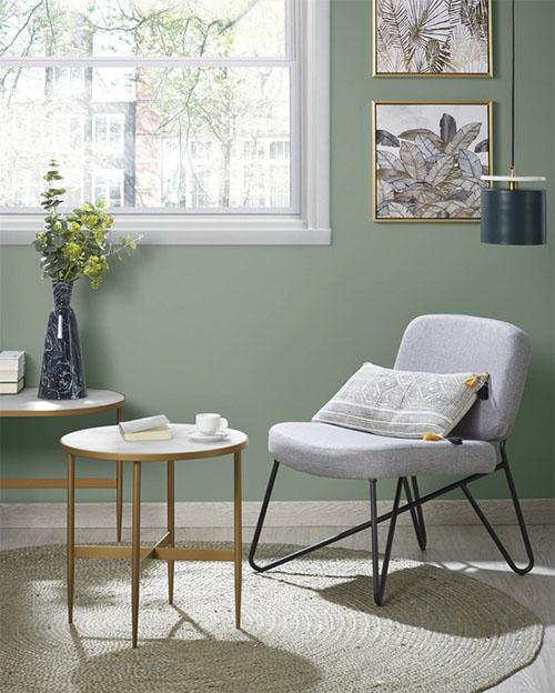 mesa de centro de estilo y diseño nórdico
