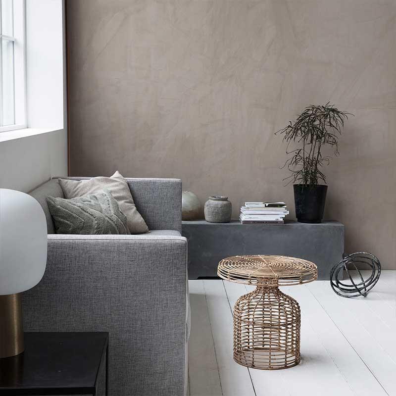 muebles de mimbre en la decoración de interiores
