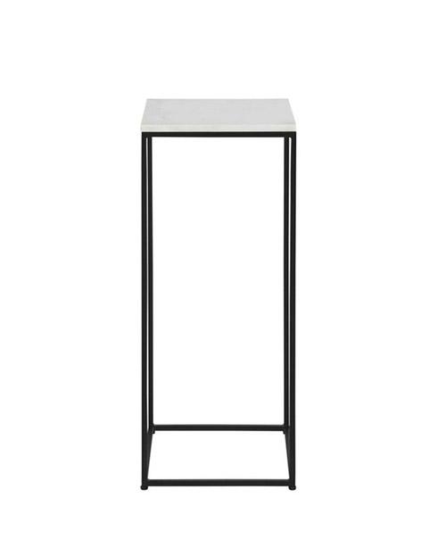 mesa alta auxiliar de marmol