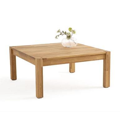 mesa centro madera natural