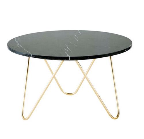 mesa de centro marmol redonda