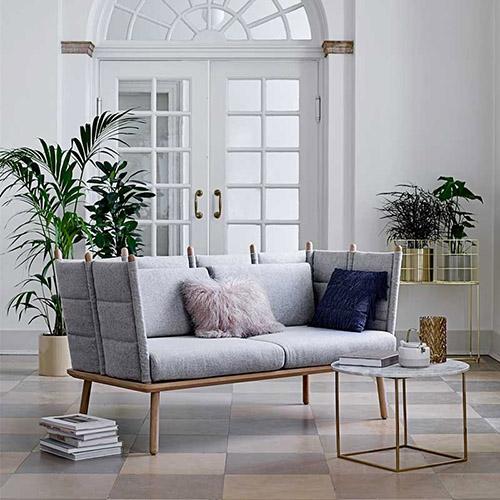 muebles de diseño escandinavo para la decoración de salones