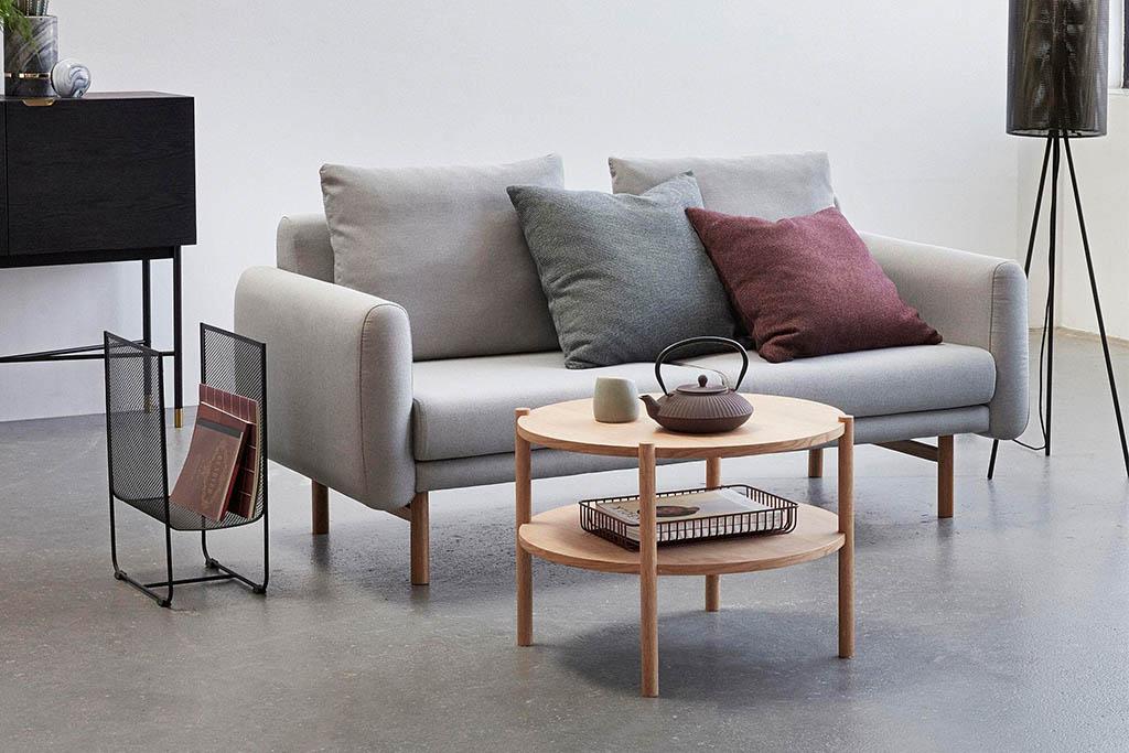 mesa de centro nórdica