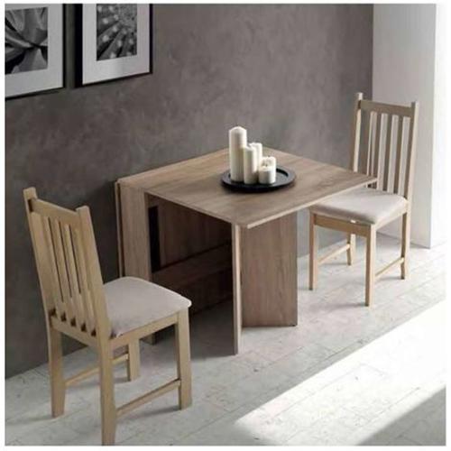 mesa plegable de madera para decorar un comedor