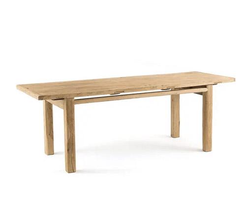 mesa de madera rustica