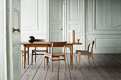 mesa de comedor de estilo nórdico
