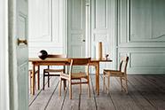 Mesa de comedor de estilo nordico